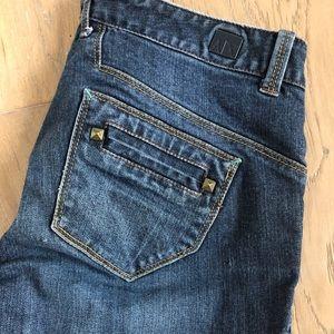 Armani Exchange Jeans with Stud Pocket Detail